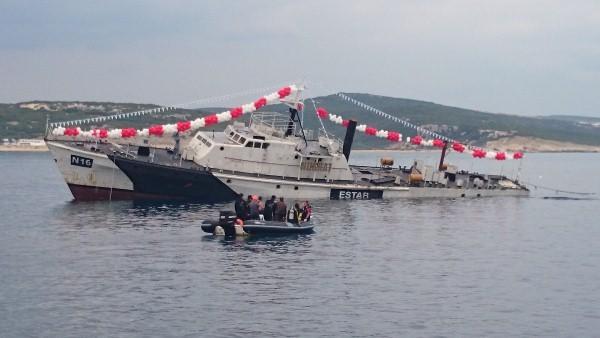 Gemi Batığı-yapay resif