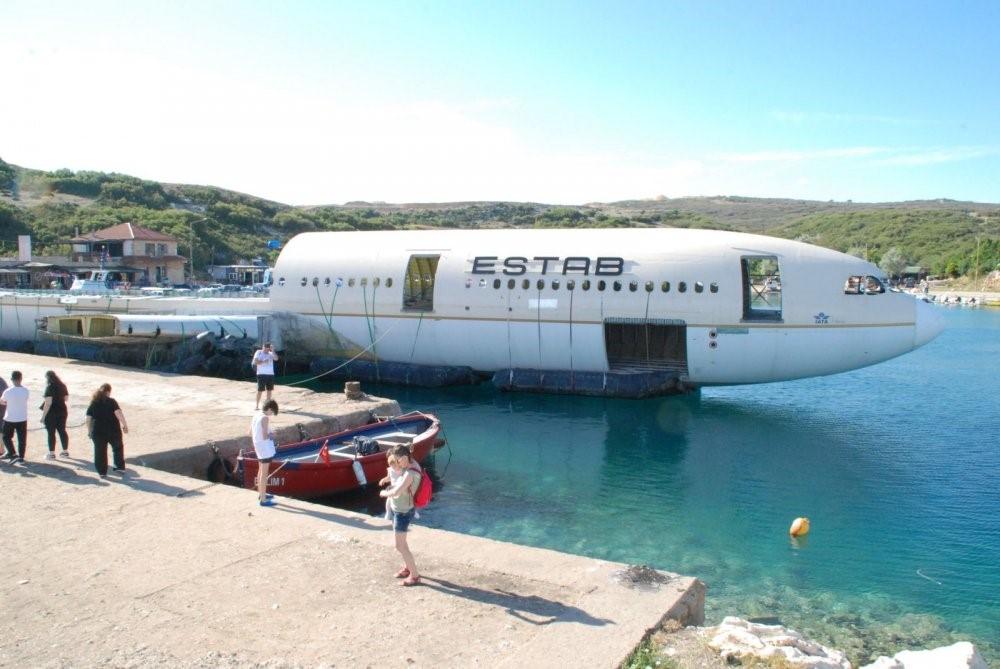 Uçak Batığı-yapay resif